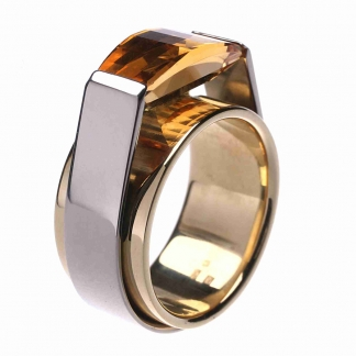 Citrines gyűrű