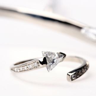 Háromszög gyémántos szett
