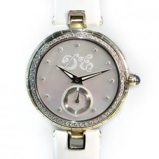 Gyöngyházas vékony női óra