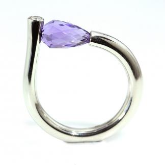 Turmalin köves gyűrű