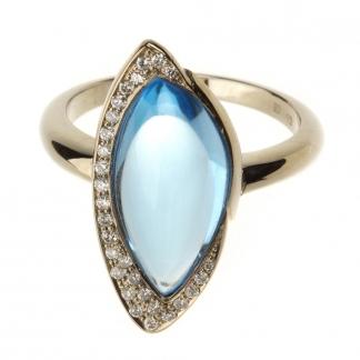 Topázos gyűrű